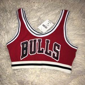 Chicago Bulls Sports Bra